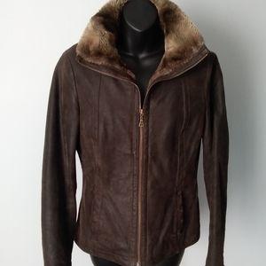 "DANIER~""Vintage Style"" Bomber Jacket"
